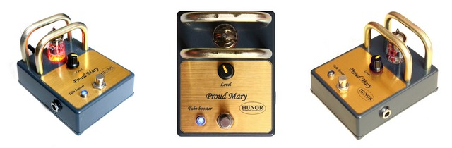 Tube Booster Proud Mary - Guitar Pedal - Hunor Tube Pedals