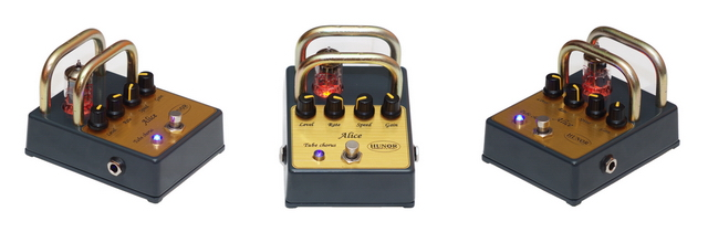 Tube Chorus Alice - Guitar Pedal - Hunor Tube Pedals