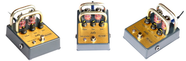 Tube Overdrive Sally - Guitar Pedal - Hunor Tube Pedals