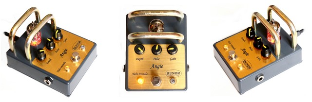 Tube Tremolo Angie - Guitar Pedal - Hunor Tube Pedals